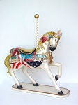 All American Carousel Horse ~4 Feet ~Life Like Statue