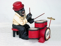 Drummer- Funny Band Figure