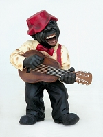 Guitar Player-Funny Band Figure