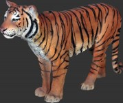 Life Size Resin Sumatran Tiger  Over 5' Long