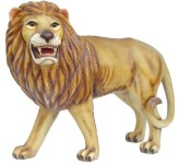 Lion Life Size Statue 4' Left View