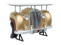 Full Size Rolls Royce Car Bar with Real Working Head Lights!