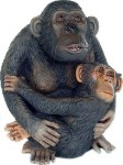 Monkey and Baby 1.5' Life Size Statue