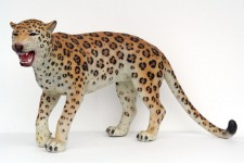 Leopard Life Size Resin Prop Display Statue