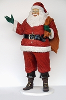 Santa Claus Larger Than Life Size Display Christmas Decor