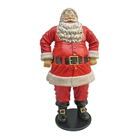6' Jolly Ol' Santa Claus Resin Prop Display - Large Christmas Décor