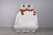 Polar Bear Double Bench