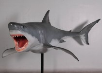 Great White Shark 12' With Metal Stand