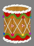 Gingerbread Drum (3D)