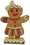 4.5' Gingerbread Girl.