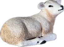 Life Size Lamb Lying Down