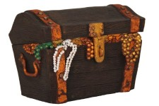 Small Pirate Treasure Chest