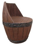 Whiskey Barrel Chair