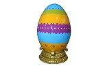 EASTER EGG 60CM W/BASE