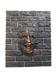 Scary Face-Brick Panel