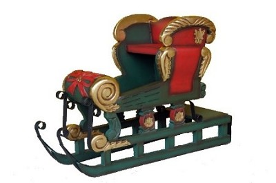 Christmas Snow Sleigh ~ Christmas Decor