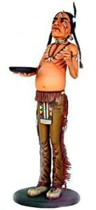 Indian Butler-5.5' Life Size Statue