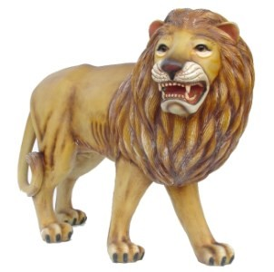 Lion Life Size Statue 4' Right View