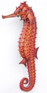 Large Sea Horse Life Like 7.5' Hanging Display!
