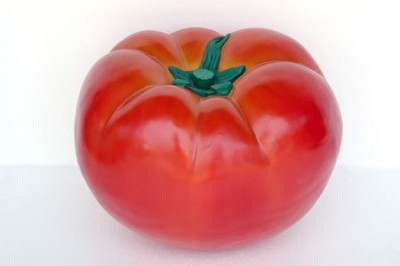 Giant Tomato Fake Food Prop Display ~ Large 2' Resin Tomato!