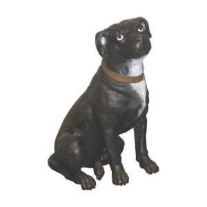 Life Size Staffordshire Terrier Dog Statue