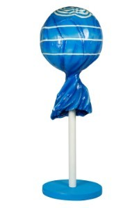 WL-CNDY-POP-BL - 5' Blue Lollipop