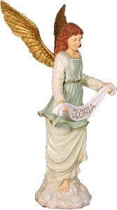 6' Life Size Nativity Angel Gloria