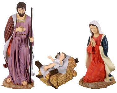 Life Size Holy Family Nativity
