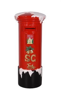 5' Tall Christmas Mail Box