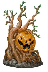4' Pumpkin with Tree